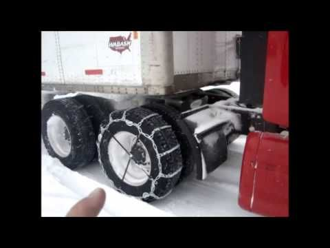 TRUCKING in THE POLAR VORTEX for US Xpress January 2014