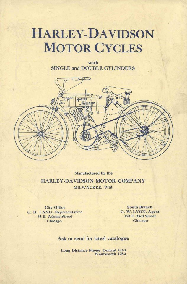 Harley-Davidson history? In 1907 we elected our first Board of Directors.