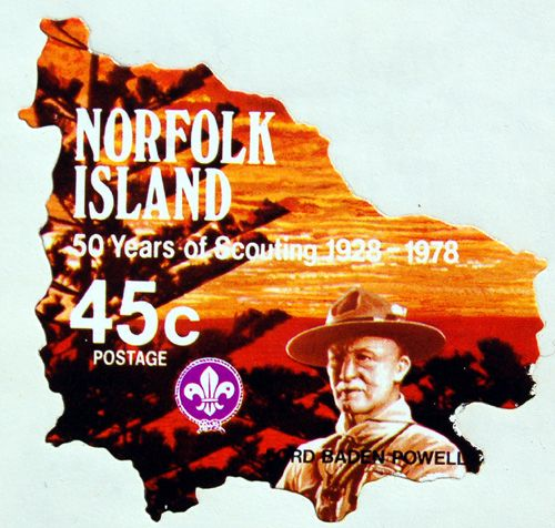 Norfolk Island - 1978  50 Years of Scouting on Norfolk Island https://www.amazon.com/s/ref=nb_sb_ss_i_1_12?url=search-alias%3Ddigital-text&field-keywords=neil+rawlins&sprefix=neil+rawlins%2Cundefined%2C408&crid=2YBQHK34VM29F