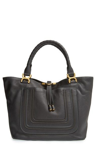 Chloé+'Marcie+-+New'+Leather+Tote+available+at+#Nordstrom