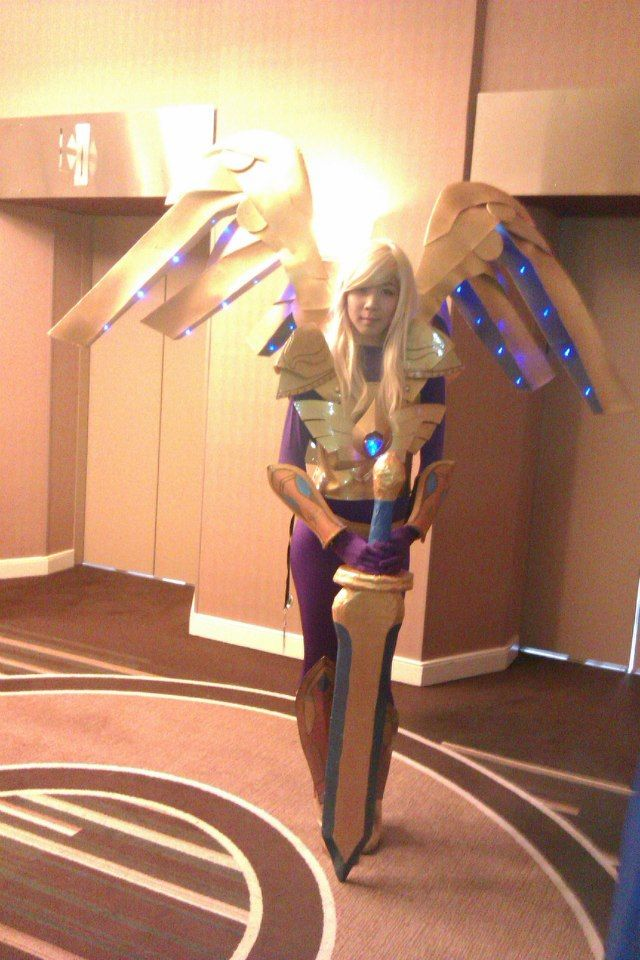 Aether Wing Kayle League of Legends Cosplay | Cosplay L
