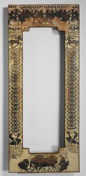 Sarcophagus lid [Klazomenian] (21.169.1) | Heilbrunn Timeline of Art History | The Metropolitan Museum of Art