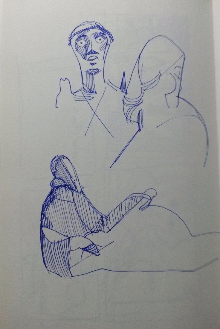 sketchbook - Study - Victor Brecheret