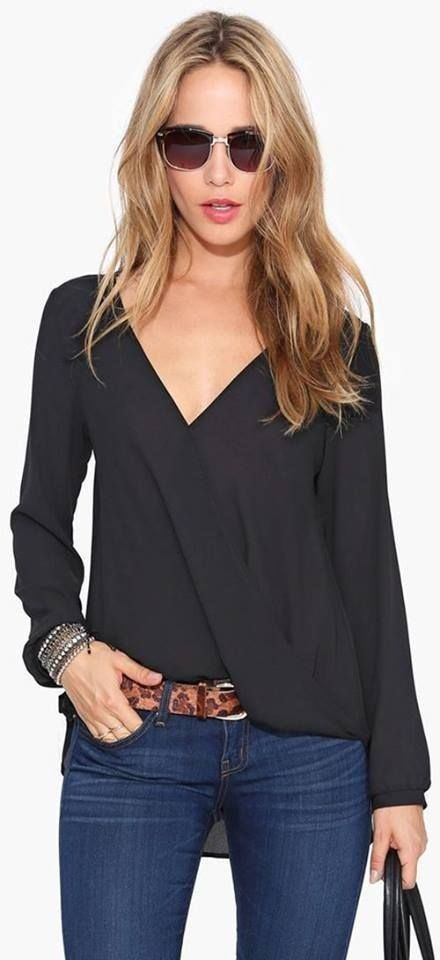 Pin By Ross Mercado On Blue Outfits Azul Blouse Shirt Blouses