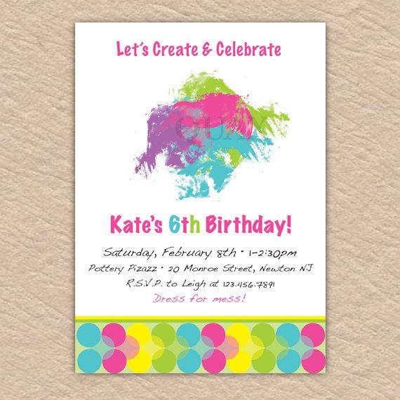 Craft Painting Birthdays