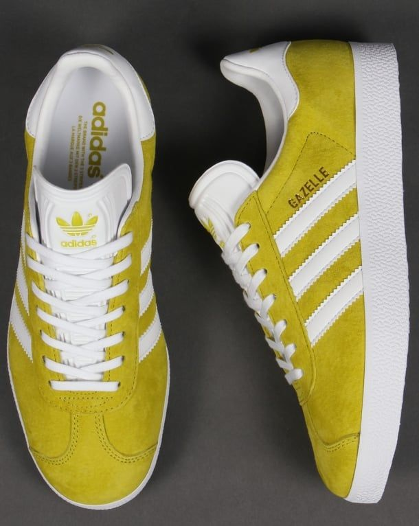 Adidas Gazelle Trainers Unity Lime/White,originals,shoes,mens,sneakers