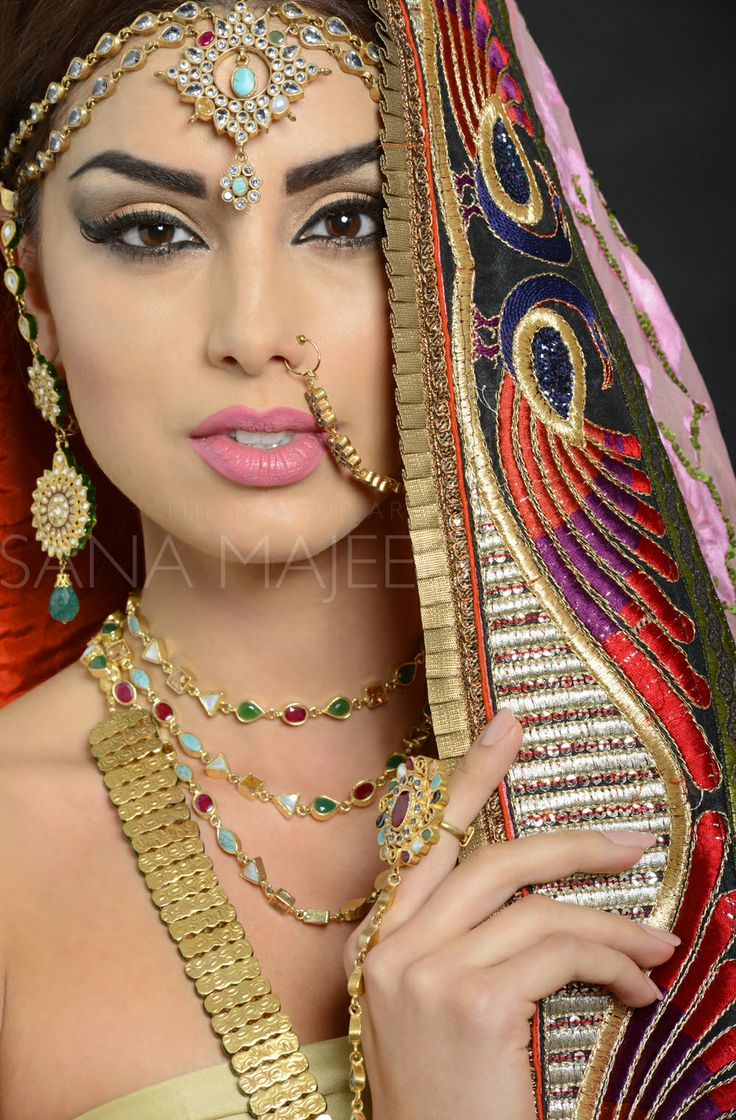 Beautiful Bollywood/Arab look by Sana Majeed. www.sanamajeed.com