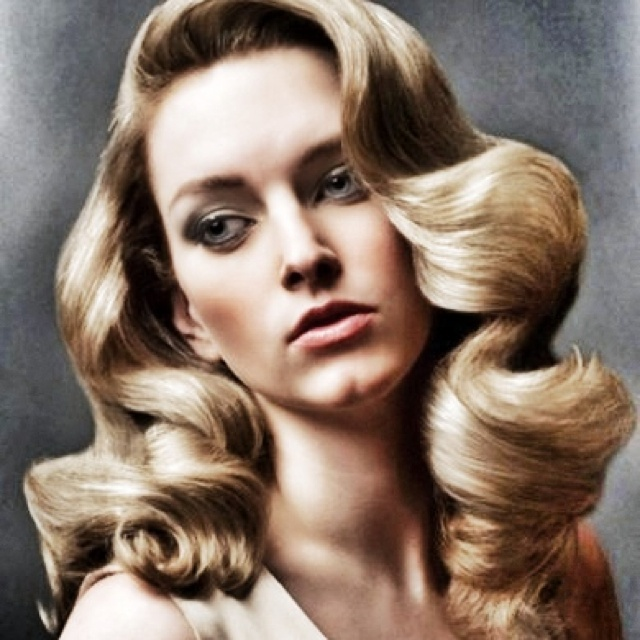 Old Hollywood Glam Serious Hair Envy Pinterest Curly