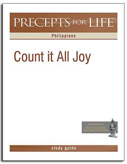 philippians count it all joy precepts for life free download study guide a study guide to. Black Bedroom Furniture Sets. Home Design Ideas