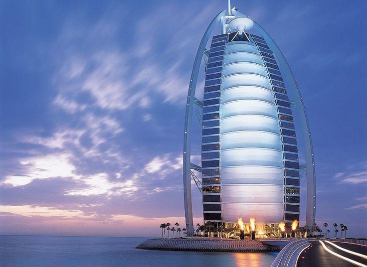 Знаменитый отель Burj Al Arab 5* (Бурж Аль Араб - Парус)