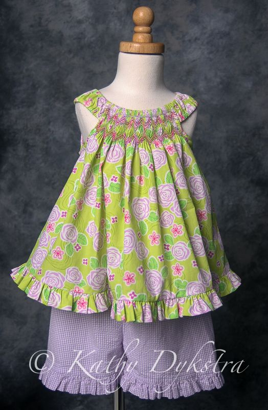 Perfectly Pretty smocked top