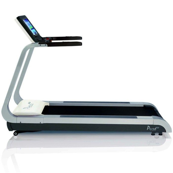 Treadmill: get to 2km as fast as possible, record time in km.