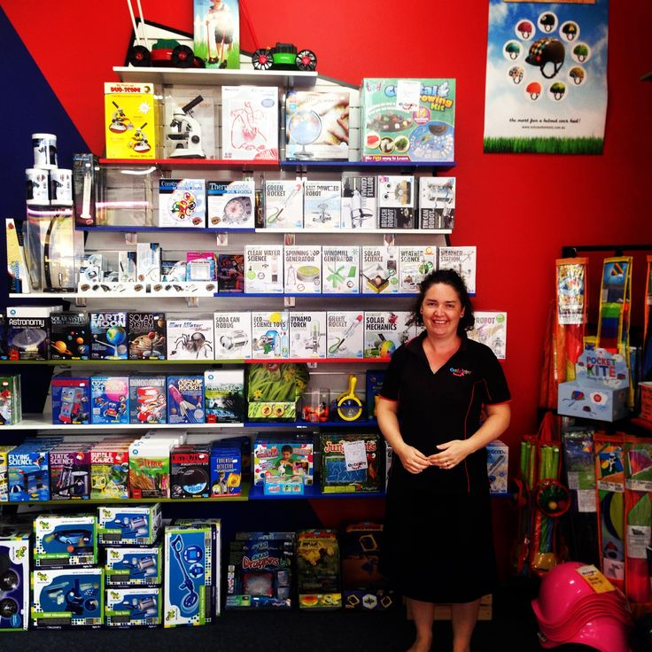 Elf Victoria with our new and improved wall of science. There's a stack of opportunity in there for fun and learning (and other crazy stuff!) #science