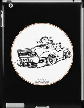 Crazy Car Art 0007 / i-pad case