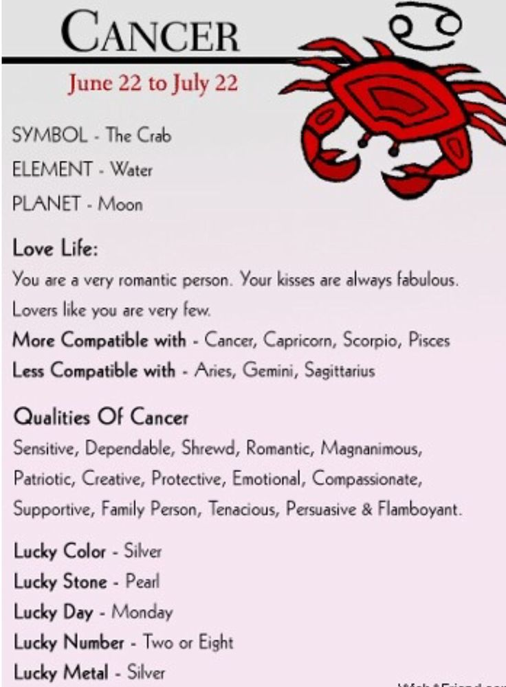 ¿Cómo es un cáncer?