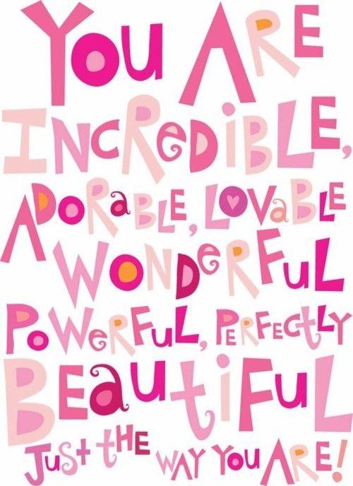 Motivation for when your self-esteem needs a lift!