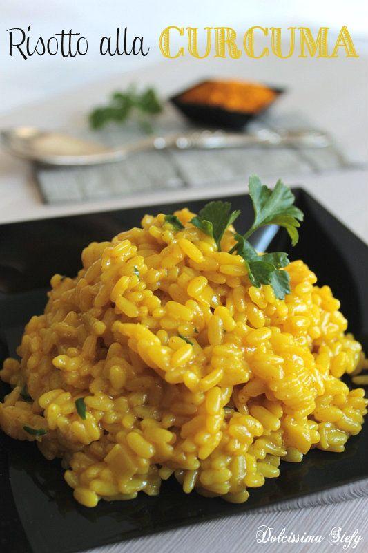 Un primo piatto diverso dal solito... il Risotto alla Curcuma