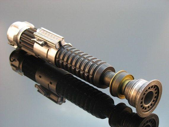 Assembled Obi Wan Kenobi Lightsaber Star Wars by Premier3DPrinting
