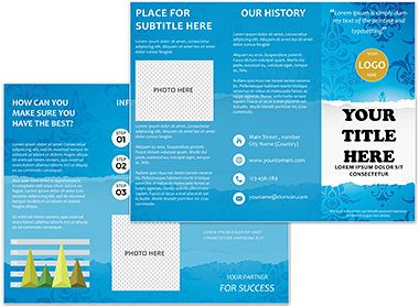 Best Brochure Templates Images On Pinterest Patterns And Butter - Online brochures templates