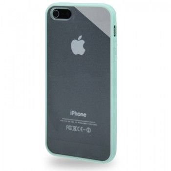 iPhone 5/5S Cases : QYG TPU Frame Case for iPhone 5 & 5s - Aero
