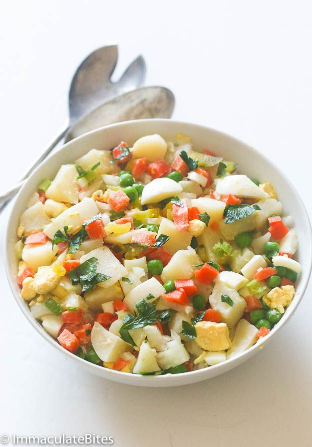 Potato Salad Recipe Jamaican Style