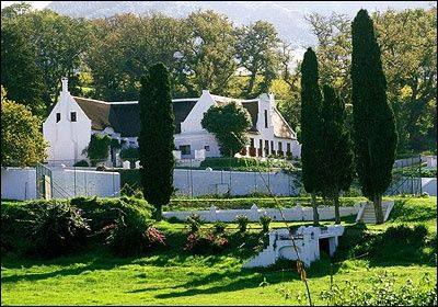 Klein Constantia wine farm - Cape Dutch design - South Africa
