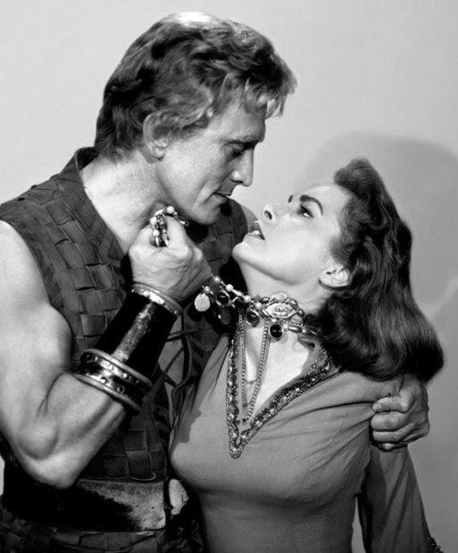Kirk Douglas, Janet Leigh-- The Vikings Tags: 1958, Janet Leigh, Kirk Douglas, portrait, The Vikings,