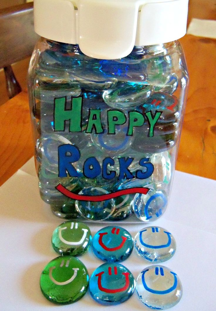 Happy Rocks!  Classroom incentives that can be taken home.  Very cheap and easy to make. :)