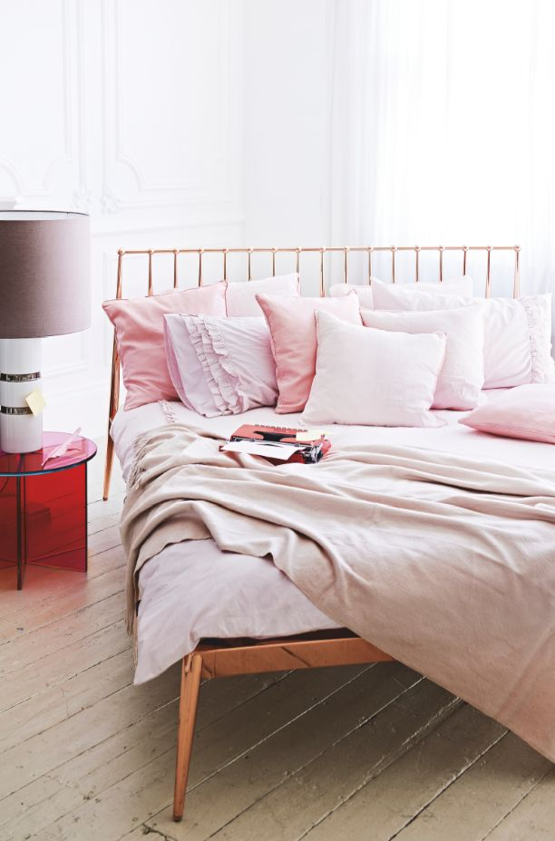 185 best blush pink rose gold dusty pink copper for Bedroom ideas rose gold