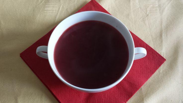 Barsczc (klare Rote-Beete-Suppe)