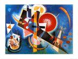 Im Blau, c.1925 Art by Wassily Kandinsky
