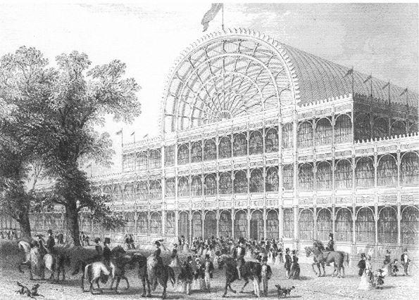 Хрустальный дворец. Джозеф Пэкстон. 1851