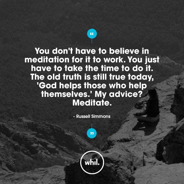 Russell Simmons on meditation