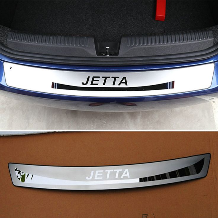 Free Shipping Stainless Steel Rear Bumper Protector Sill Car Accessor For VW Volkswagen Jetta MK6 2011 2012 2013 2014 2015 #Affiliate