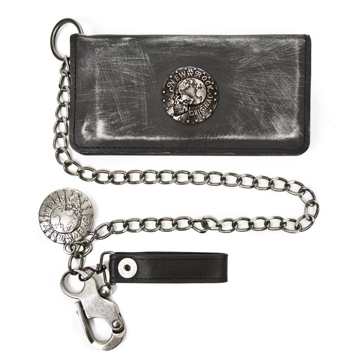 New Rock gothic genuine leather metal wallet. #newrock #wallet #goth #leather  You can purchase this wallet here: http://newrockaustralia.com/index.php?id_product=36602&controller=product