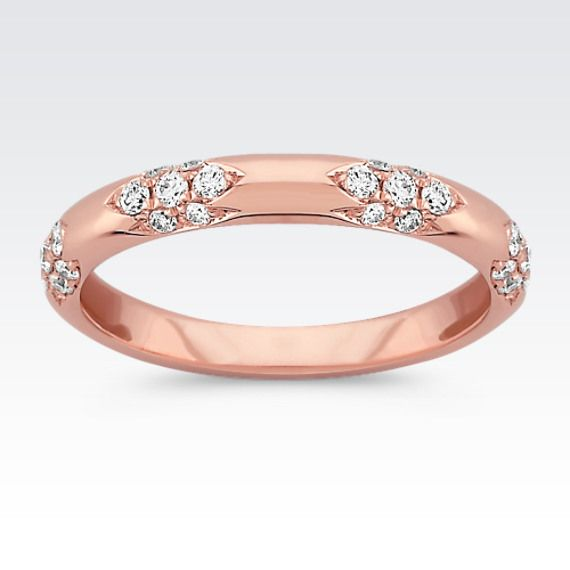 Best Best Unique wedding bands for women ideas on Pinterest Rose gold bands White gold wedding jewellery and Rose gold band ring