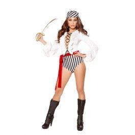 Pirate Scoundrel 3pc Sexy Pirate Costume