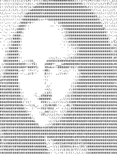 5 Best Ascii Art Generators (Convert your Image to Text) - mytrickpages.com