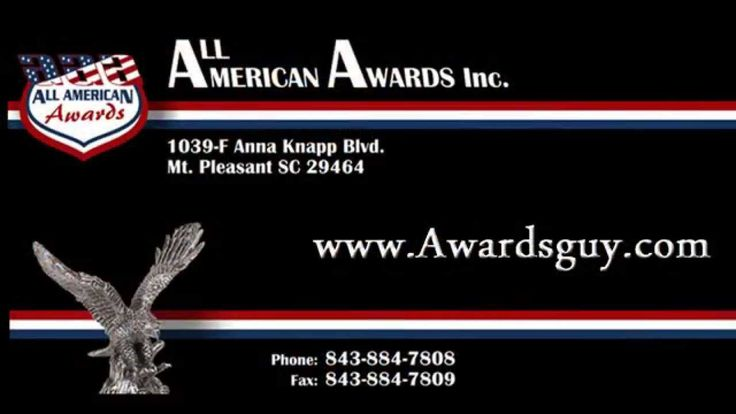 Custom Medals from All American Awards Charleston, SC  Trophy Shop www.a...