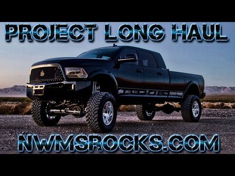 Project Long Haul - 2013 Dodge Ram 3500 Mega Cab Long Bed 6.7L - Northwest Motorsport - YouTube