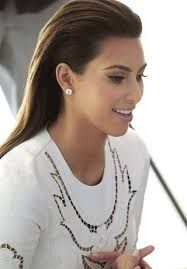 Image result for slicked back hairstyle female