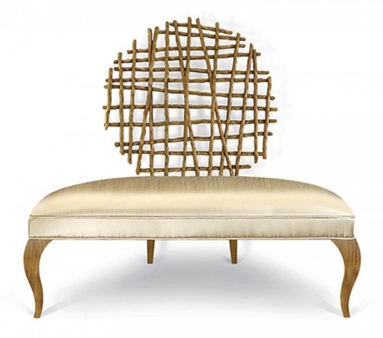 Great Guest Chair Wicker Headboards Wood Living Room