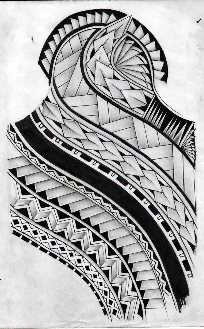 Samoan Art Designs : Samoan tattoo pattern design by koxnas