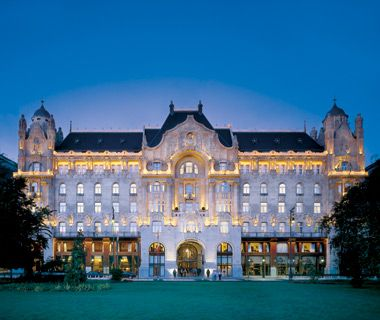 World's Best Hotels: Four Seasons Hotel Gresham Palace