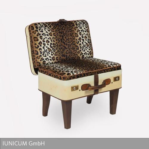 """Ein Meisterstück. """"Der kleine Leopard"""" ist auf jeden Fall der richtige Stuhl für Dich, wenn Du extravagante Sachen magst. Dennoch ist dieser besondere…"""