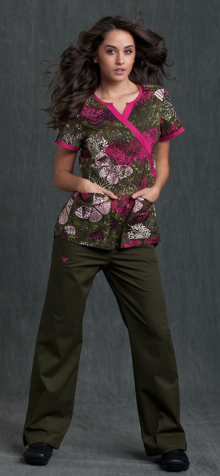 Uh, love these scrubs, and if I could look that fabulous on shift in them that'd be great too.
