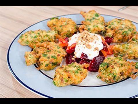 Chef στον Αέρα - Κροκέτες μπακαλιάρου με σαλάτα παντζάρι - πορτοκάλι - YouTube
