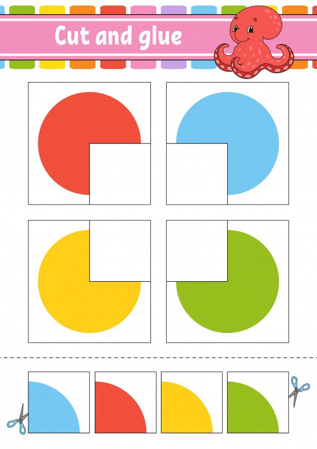 Pin On Cut And Glue Worksheets For Kids Cut and glue worksheets for preschool