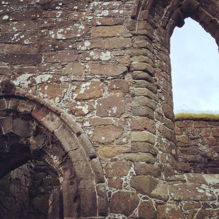 Ruins of Cathedral #Kirkjubour #culturalheritagesite #presstrip #travel #viaggi #fermataFaroe #Faroe #Islands #visitfaroe