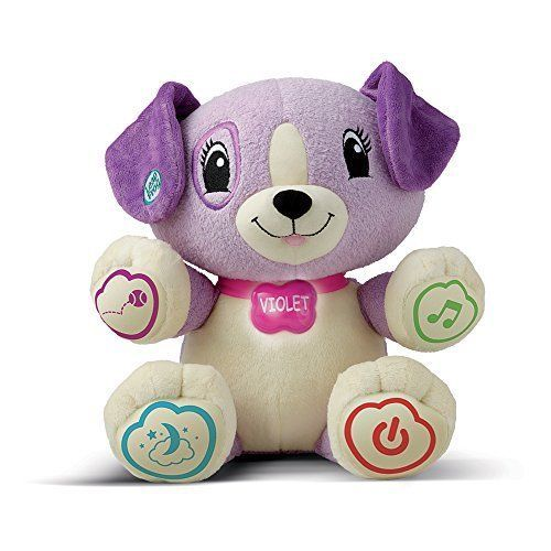 Baby Clever Puppy My Pal Violet Interactive Toys Learning For Childs Fun Gift  #LeapFrog